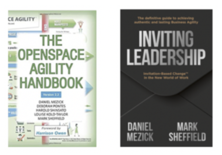 Books: The OpenSpace Agility Handbook and Inviting Leadership